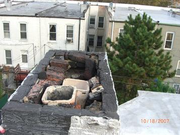 chimney disaster